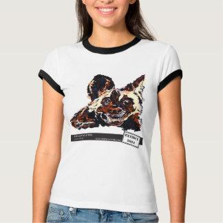 African Wild Dog by Natasha Bowdoin T-Shirt