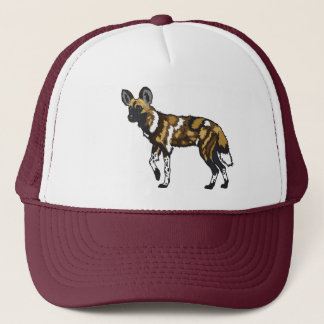 african wild dog cap