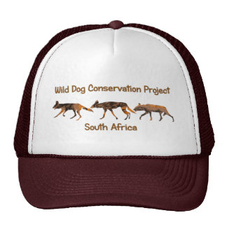 African Wild Dog Conservation Project Safari Cap