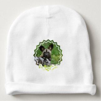 African Wild Dog Baby Beanie