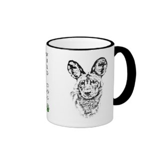 African Wild Dog Mug - Africa Series