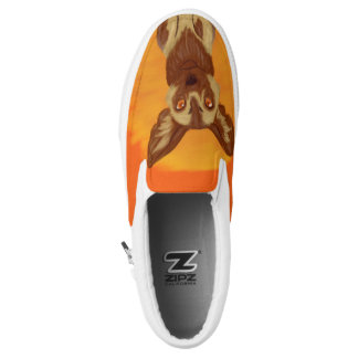 African Wild Dog Slip-On Shoes