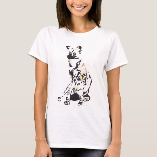 African wild dog tee