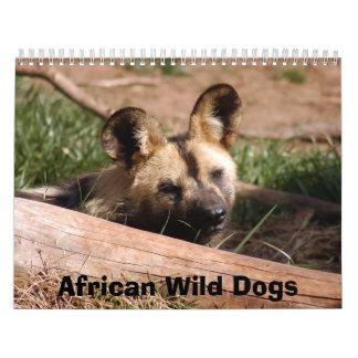 African Wild Dogs Calendar, African Wild Dogs Calendar