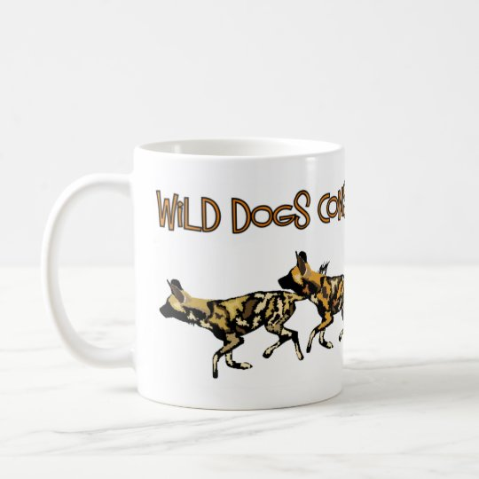 African Wild Dogs Conservation project Mug