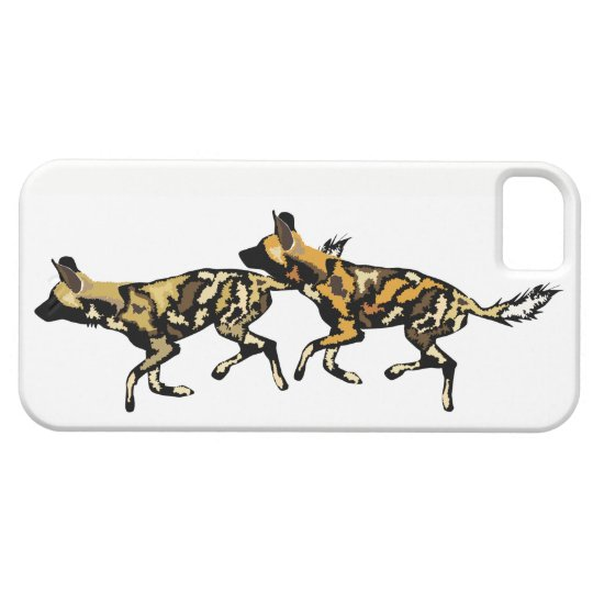 African Wild Dogs Iphone case