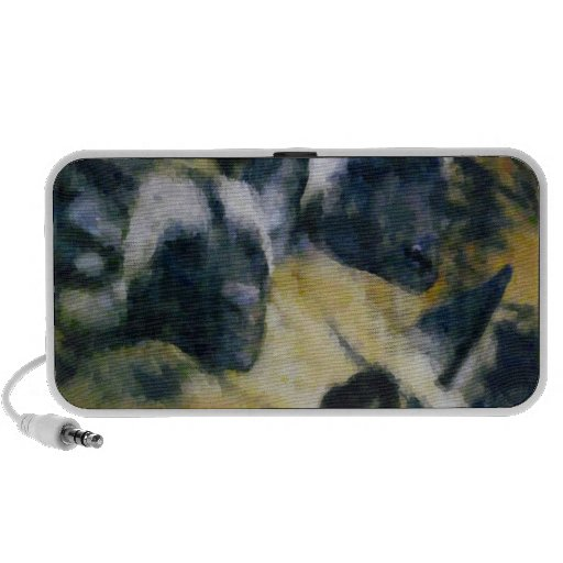 African Wild Dogs/Painted Dogs Sleeping Speaker