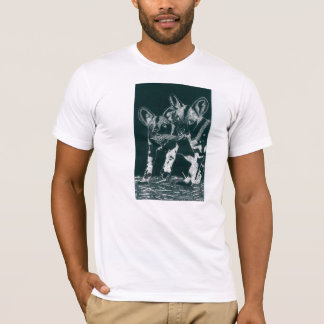 African-Wild dogs T-Shirt