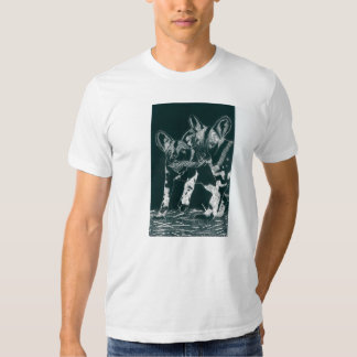 African-Wild dogs Tee Shirts