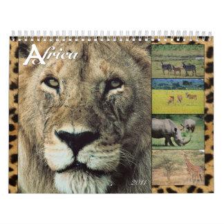 African Wildlife 2011 Wall Calendar