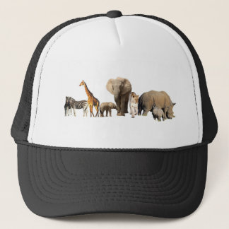 African Wildlife Trucker Hat