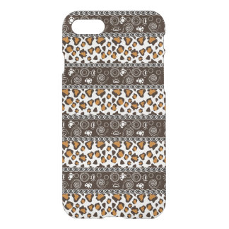 African with cheetah skin pattern iPhone 8/7 case