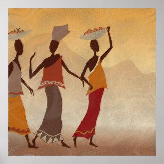African Women Print