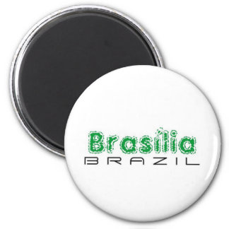 Africankoko custom Brasília, Brazil 6 Cm Round Magnet