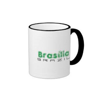 Africankoko custom Brasília, Brazil Ringer Coffee Mug