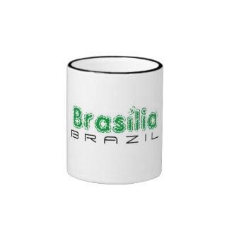 Africankoko custom Brasília, Brazil Ringer Mug