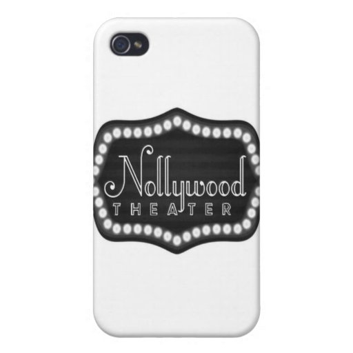 Africankoko custom Nollywood Theater Speckcase Cover For iPhone 4