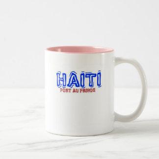 Africankoko,'Haiti' 2010 Custom Collection Two-Tone Coffee Mug