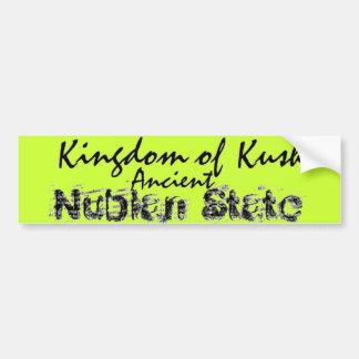 Africankoko Kingdom of Kush, Nubian ,Egypt, Sudan Bumper Sticker
