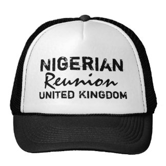 Africankoko  Nigerian  Reunion United Kingdom Mesh Hat