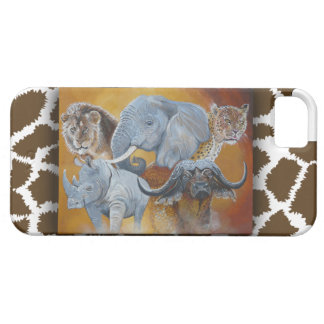 Africas Big Five  Iphone case. Barely There iPhone 5 Case