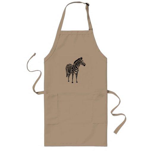 afrika afrikamotiv zebra animal tiere kindermotiv long apron