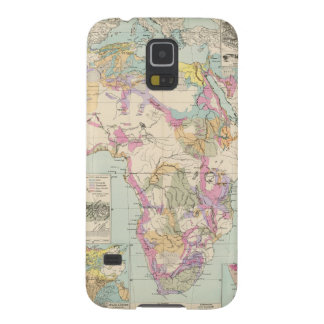Afrika - Atlas Map of Africa Galaxy S5 Cover