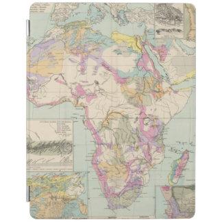 Afrika - Atlas Map of Africa iPad Cover