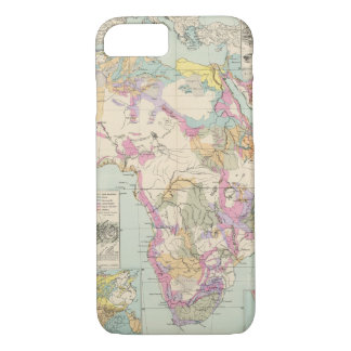 Afrika - Atlas Map of Africa iPhone 8/7 Case