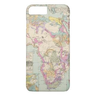 Afrika - Atlas Map of Africa iPhone 8 Plus/7 Plus Case
