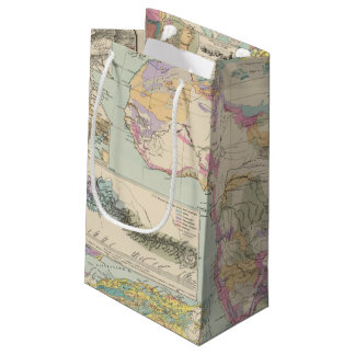 Afrika - Atlas Map of Africa Small Gift Bag