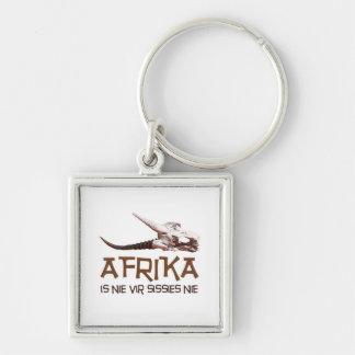 Afrika is nie vir sissies: Africa Springbok skull Keychains