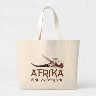 Afrika is nie vir sissies nie - Springbok skull Bag