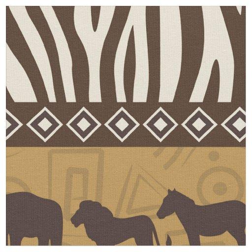 Afrikan Safari Fabric