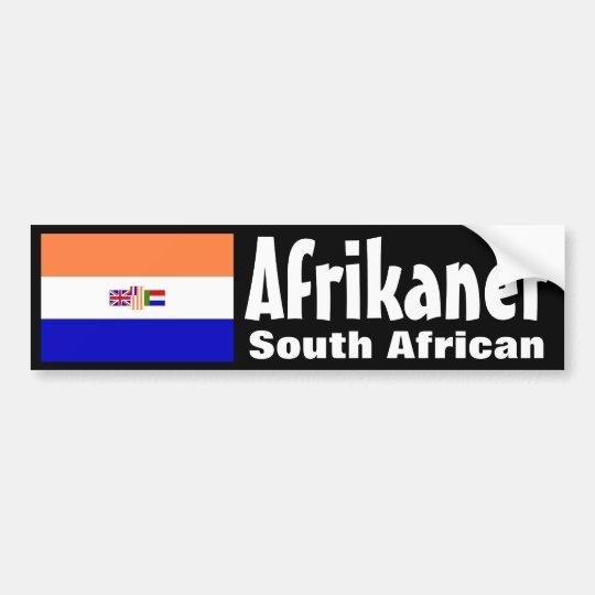 Afrikaner Bumper Sticker