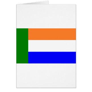 Afrikaner Vryheidsvlag, South Africa Cards