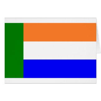 Afrikaner Vryheidsvlag, South Africa Greeting Card