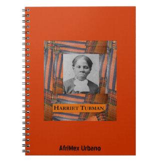 AfriMex Urbano Harriet Tubman Orange Notebook