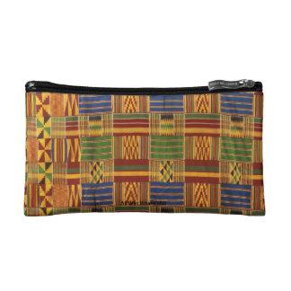 AfriMex Urbano Kente Cloth Traditional Bag Cosmetics Bags