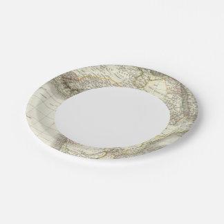 Afrique - Africa Paper Plate