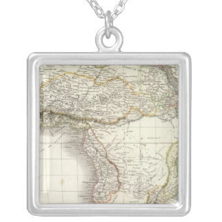 Afrique - Africa Silver Plated Necklace