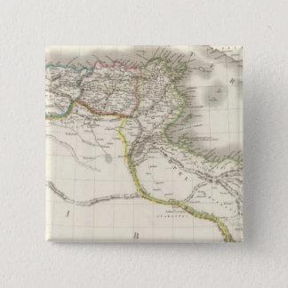 Afrique Propre - Africa Atlas Map 15 Cm Square Badge
