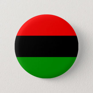 afro american flag afro-american 6 cm round badge