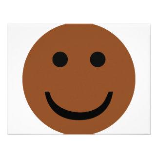 Afro-American smiley icon Invites