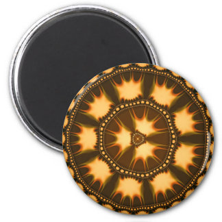 Afro Bliss 6 Cm Round Magnet