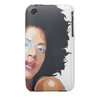 Afro-centric iPhone 3 Case Mate