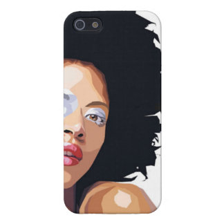 Afro-centric - iPhone 5 Case