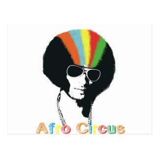 Afro Circus Postcard
