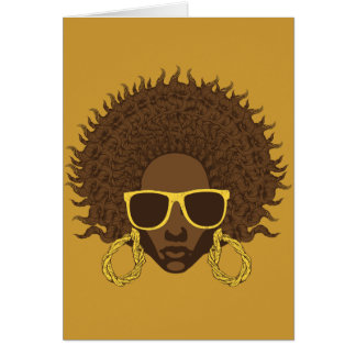 Afro Cool Card