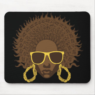 Afro Cool Mouse Mat